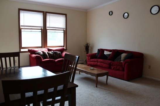 student apartments near suny cortland image of living room at 38 oswego street in cortland ny